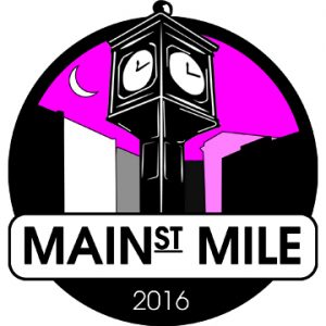 Main Street Mile Logo