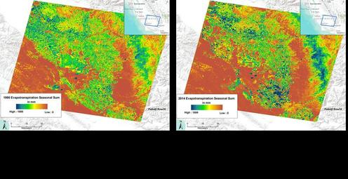 Landsat Reveals Water Use Dynamics in the San Joaquin Valley