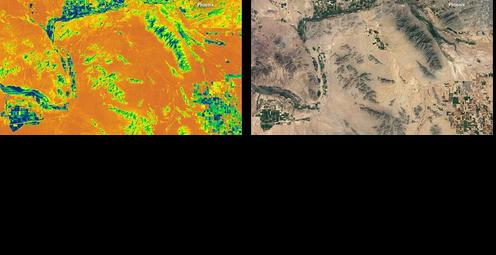 Measuring Water Use with Landsat