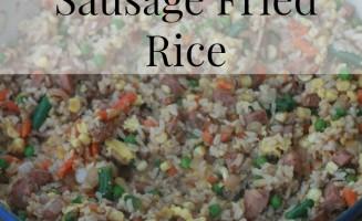 21 Day Fix Chicken Sausage Fried Rice | www.morethanmundane.com