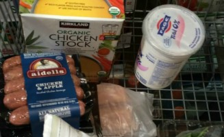 A clean eating/21 Day Fix Costco Shopping List to help you keep your pantry and fridge stocked for success!