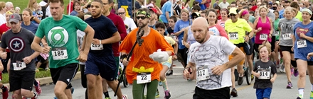 2015 SuperHero 5k Runners