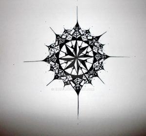 Compass-Tattoo-Designs-1