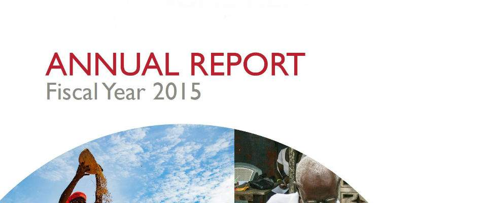 USAID/Ghana Annual Report - Fiscal Year 2015