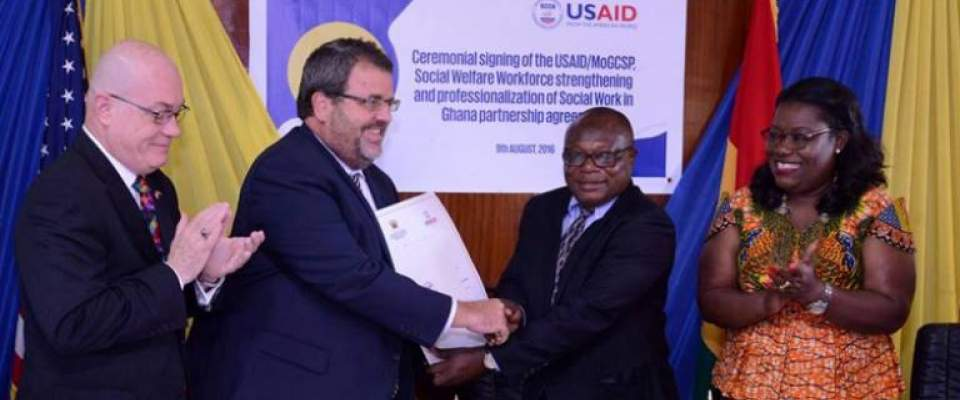 USAID AND MINISTRY OF GENDER, CHILDREN AND SOCIAL PROTECTION SIGN CARE REFORM COLLABORATION AGREEMENT
