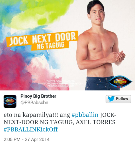 axel torres 572x610 PBB All In Official Housemates (Photos)