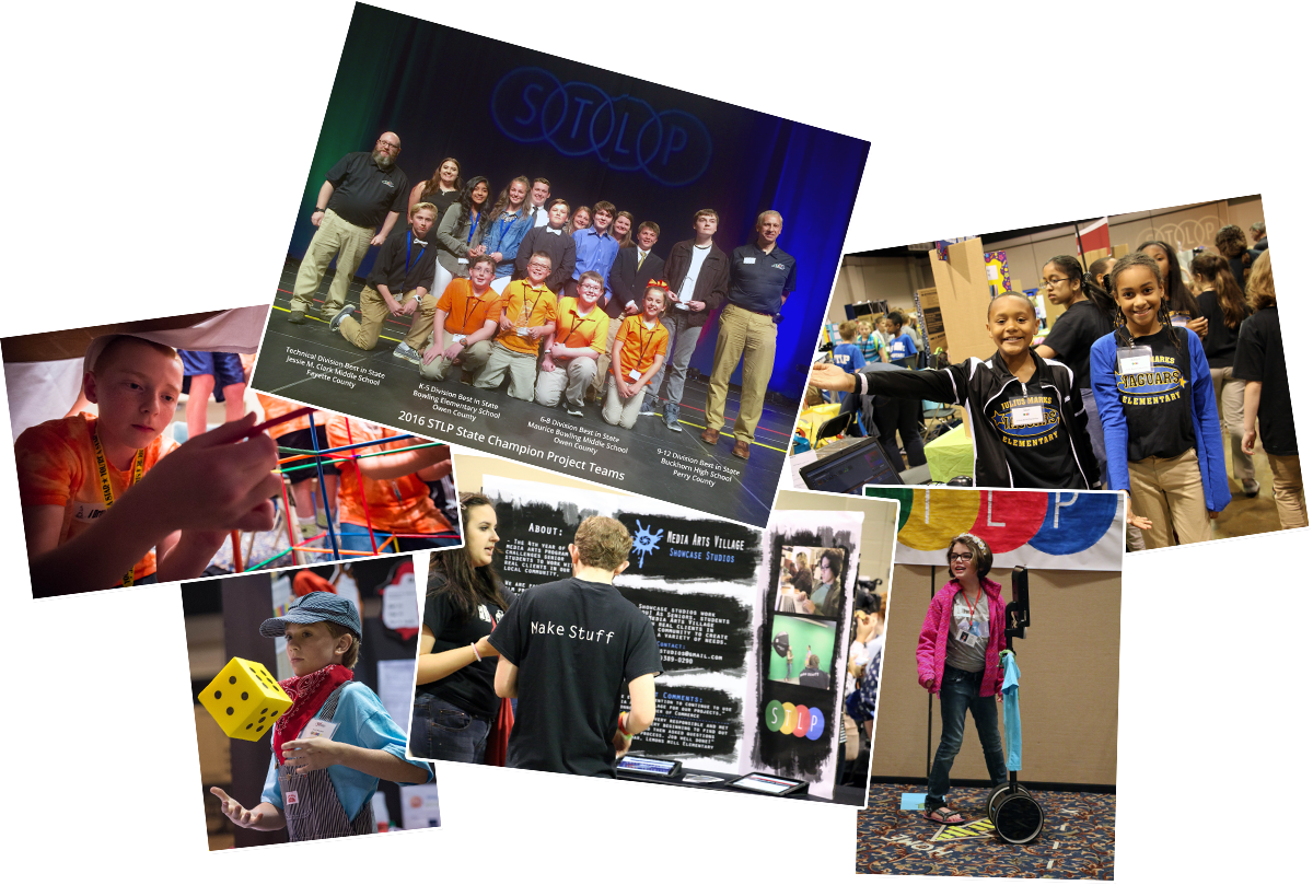 STLP State Championship collage of images