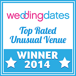 Top Rated Unusual Wedding Venue Badge