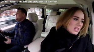 Adele´s Carpool Karaoke ist der virale Hit des Jahres. (Screenshot: Bit Projects)