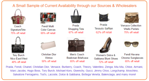 Wholesale Designer Handbags Prices