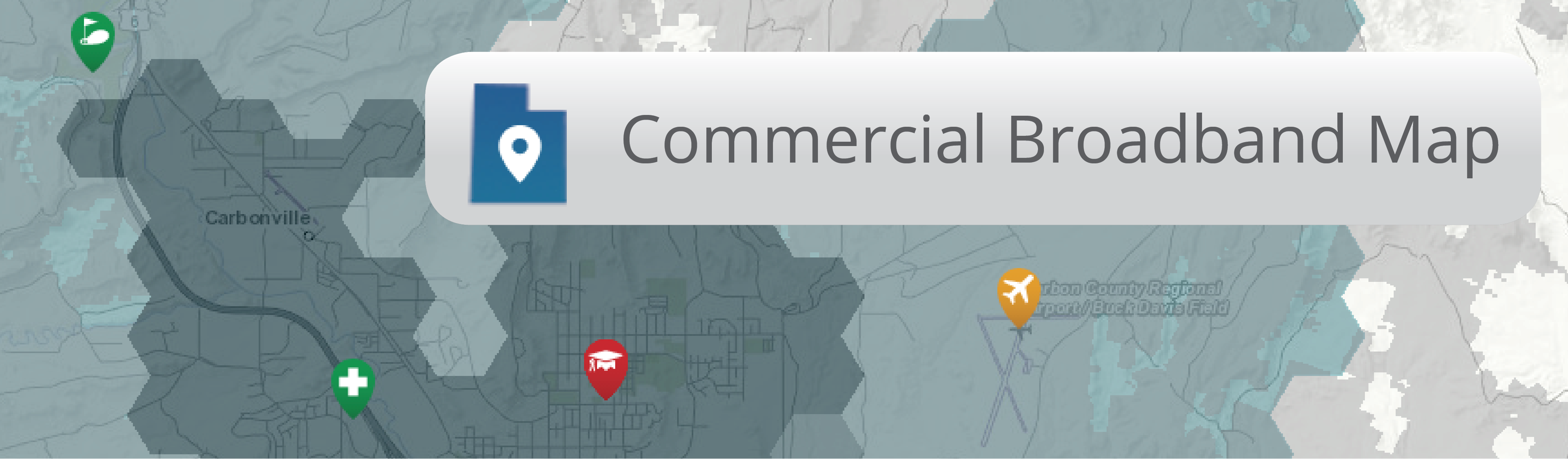 View the Commercial Broadband Map