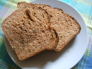 Sun Dried Tomato and Basil Bread recipe