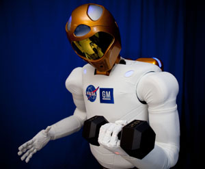 R2 20 pound weight, Robonaut
