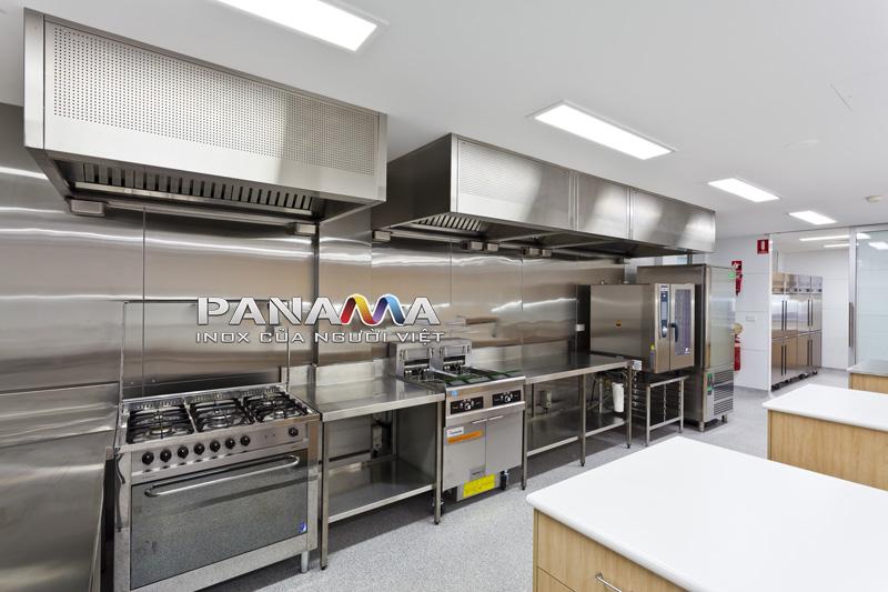 INOX được ứng dụng sản xuất thiết bị bếp cho nhà hàng, khách sạn