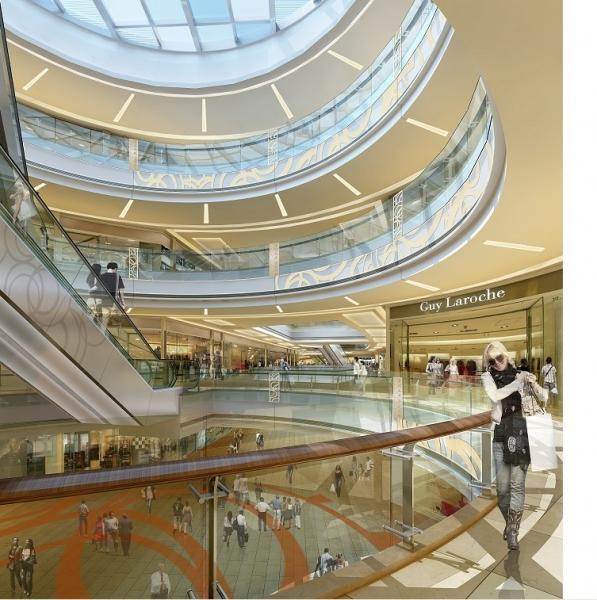 重庆商场装修效果图