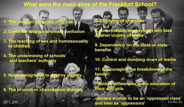 frankfurt school 11 point plan