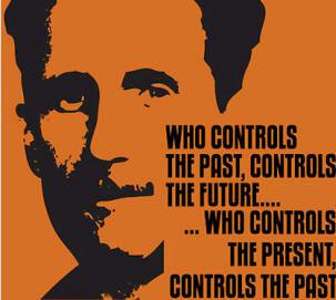 Orwell - controls the past
