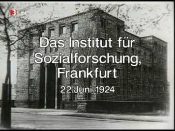 Frankfurt school building