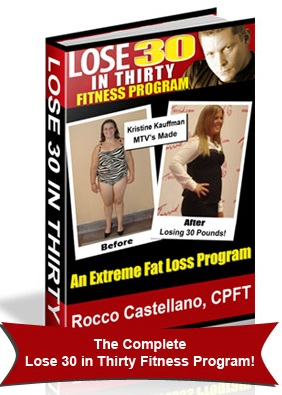 Rocco Castellano lose 30 in thirty reviews