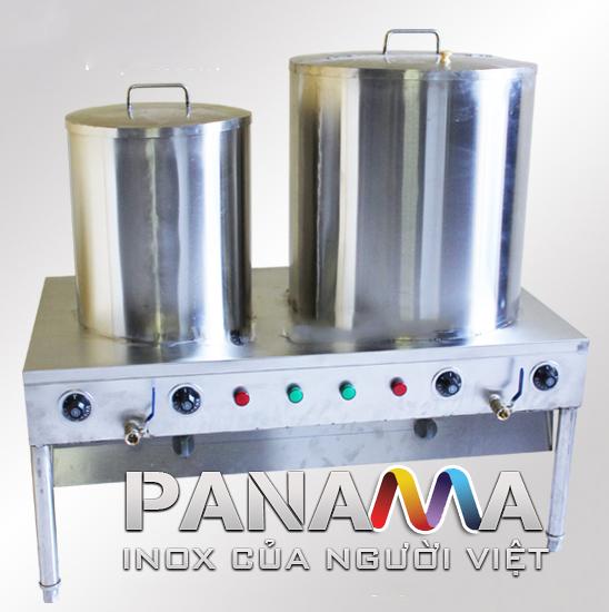 Bộ nồi đôi nấu phở inox dùng điện mã NP-02