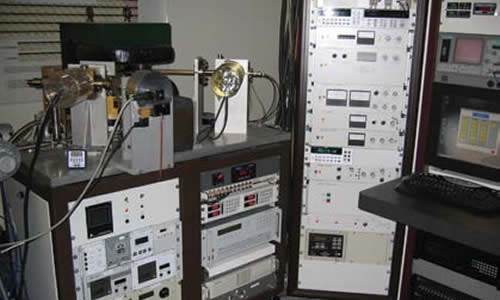 USGS isotope laboratory equipment