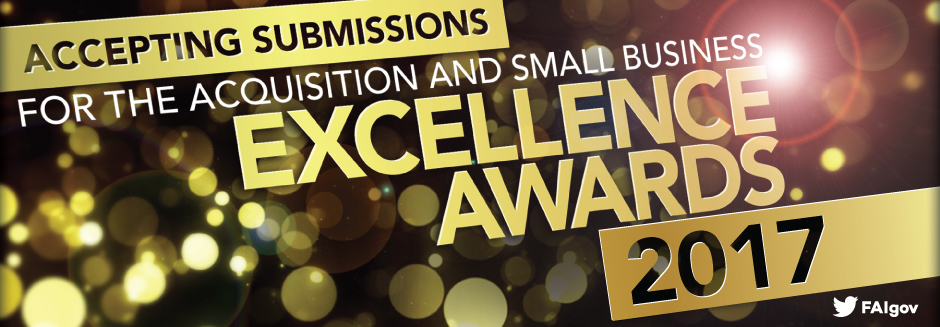 Acquisition Excellence 2017 Nominations Now Open