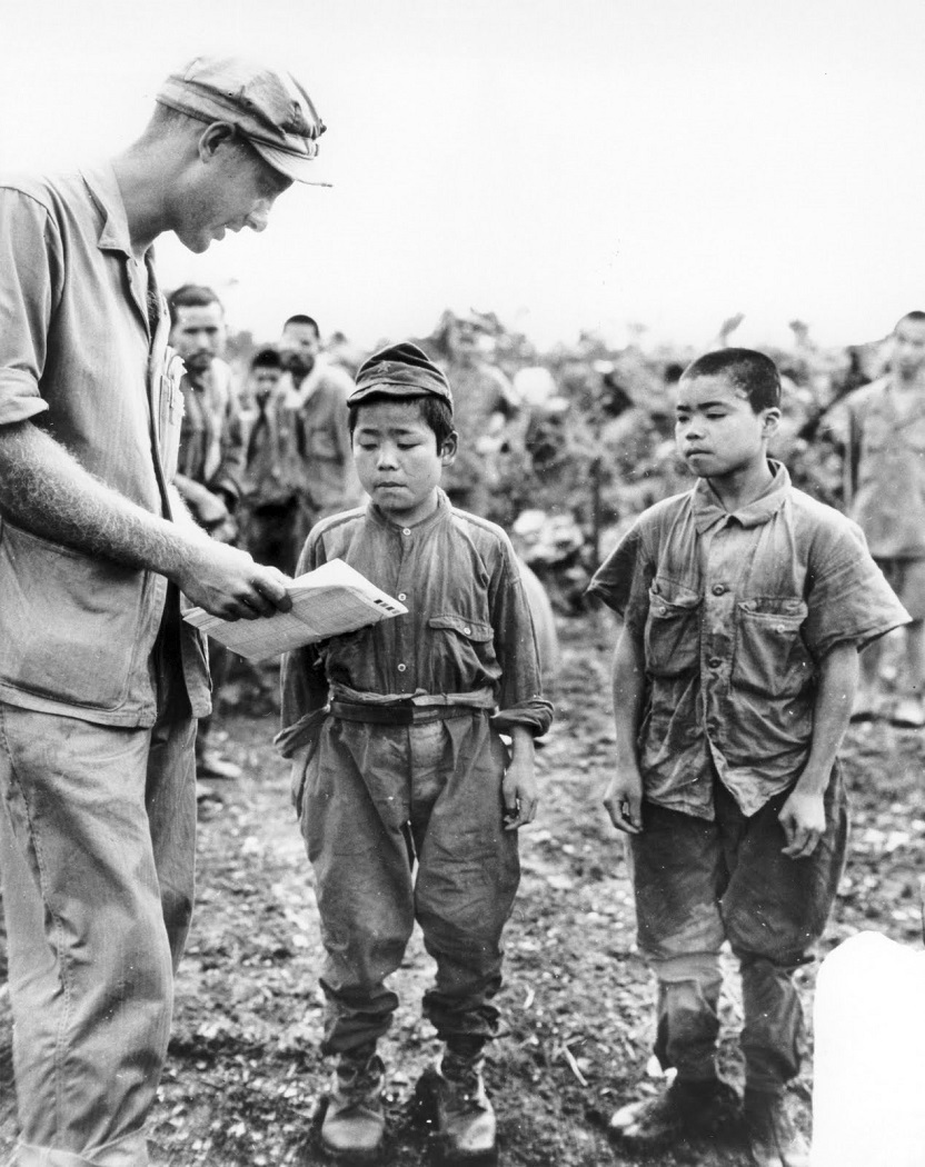 red pics jap prisoners okinawa