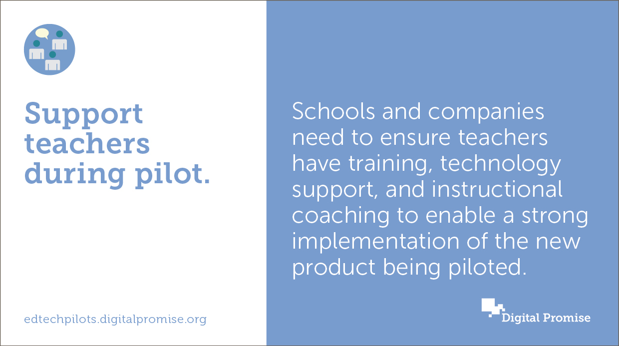 """According to Aileen Owens, Director of Technology and Innovation at South Fayette School District, """"I think every district needs to make sure they give complete support to anyone piloting a new product, meaning that when they have an issue, it should..."""
