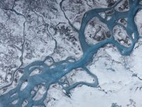 """Greenland's ice can """"darken"""" in ways we can see and ways we can't. Photo: Marco Tedesco"""