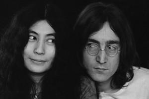 John Lennon y Yoko Ono