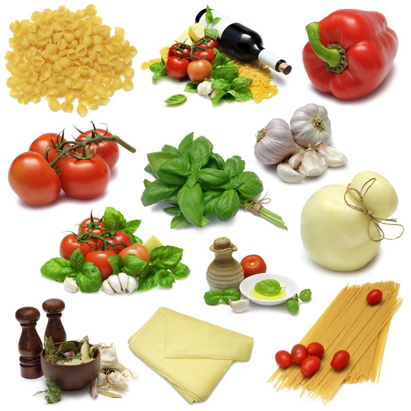 12种家庭日常果蔬零食高清图片