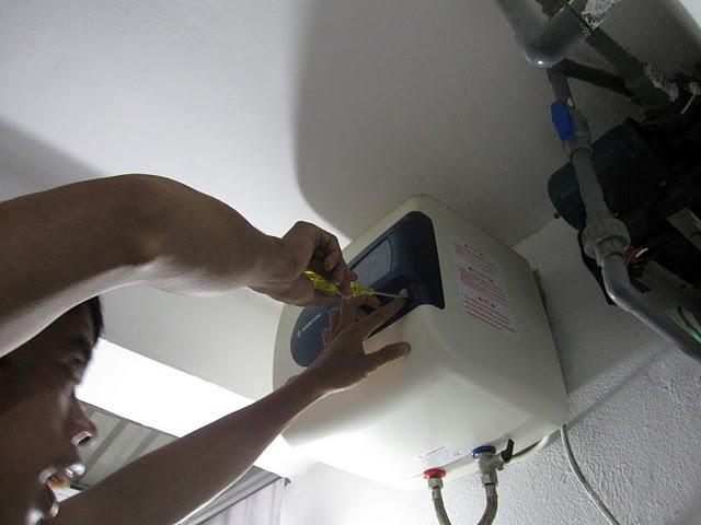 Lắp đặt, bảo dưỡng sửa chữa bình nóng lạnh tại quận Ba Đình