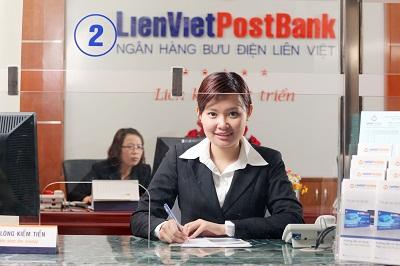 Vay tiền mặt nhanh chóng tại ngân hàng Bưu Điện Liên Việt Postbank