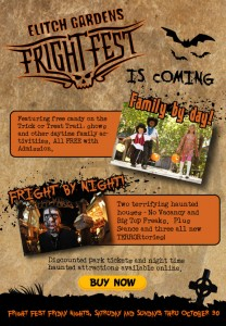 Fright Fest at Elitch Gardens! 9/30-10/30 @ Elitch Gardens | Denver | Colorado | United States