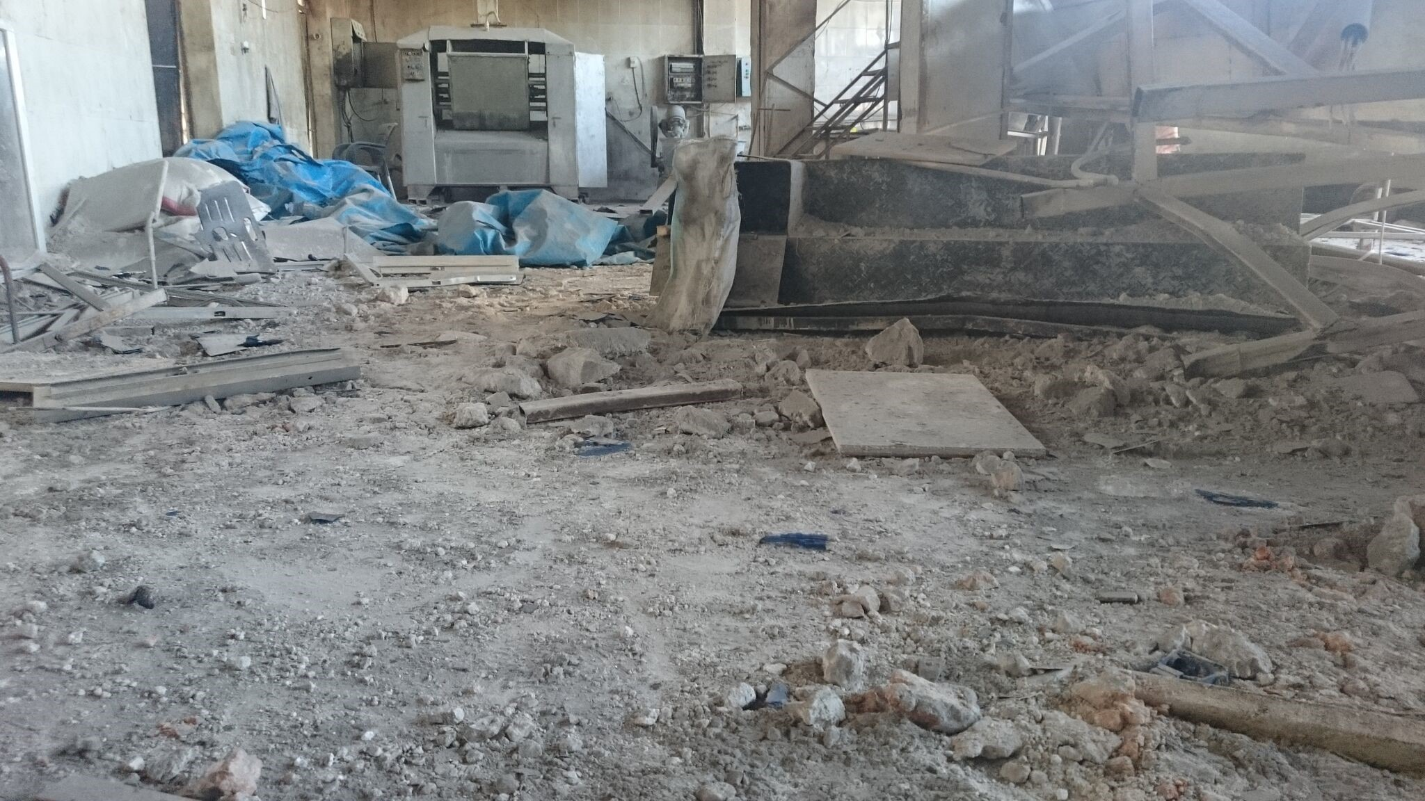 Airstrike destroys Idlib bread oven serving 150,000 people, with no money to rebuild