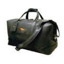 Ford Mustang Black Leather Duffel