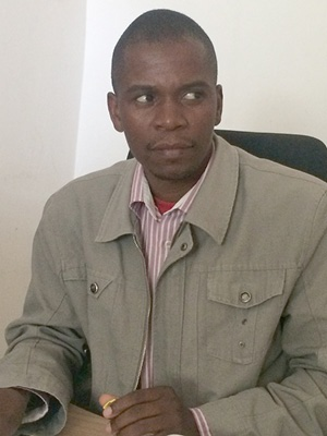 Juliao Chiburre, chief secretary of Magude town council, is at his wits' end in the battle against the poaching trade