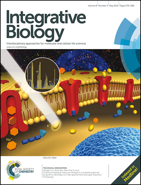 Integrative Biology cover May 2016