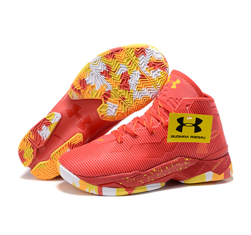 Under Armour Stephen Curry 2.5 Shoes Red Yellow