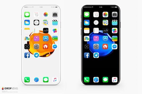 如果iPhone 8真长这样 花1万块买也值吧?