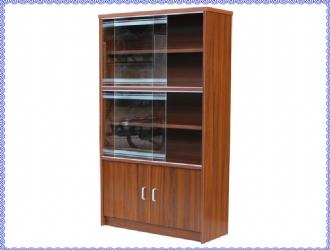 30   80厘米带玻璃书柜(宽80*深30*高182cm)408元.