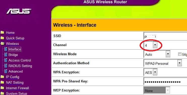 A Wi-Fi beállításai