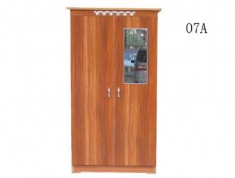 09 小二门衣柜   棕/粉红/白色(宽60*深42*高172cm) 140元