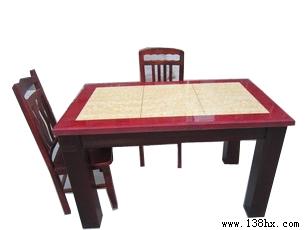 22  单张大理石餐台750元,大理石餐台+九牙椅(四张)1020元,大理石餐台+九牙椅(六张)1158元