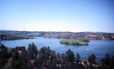 Photograph of Tongue River Resevoir State Park