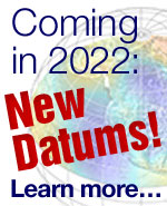 New datums coming