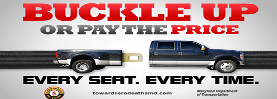 Buckle up on every trip