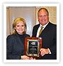 Commissioner Receives Distinguished Service Award
