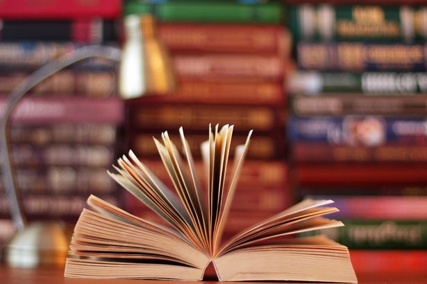 Disclosed-book-on-table-at-library