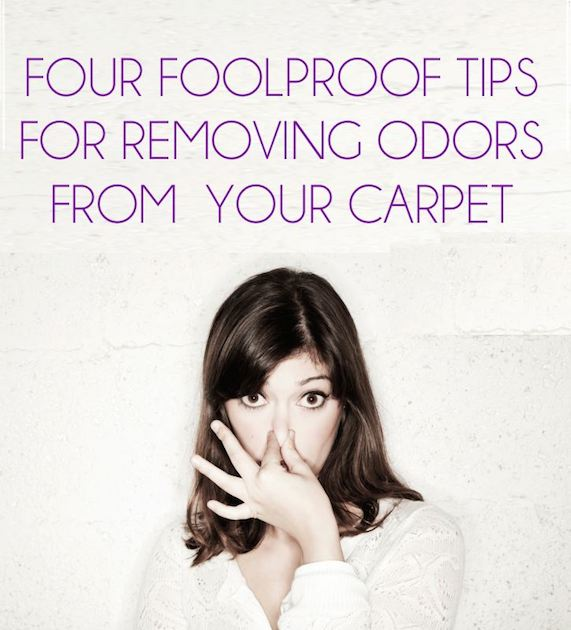 Four Foolproof Tips for Removing Odors from Your Carpet